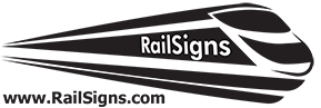 rail signs logo