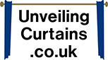 unveiling curtains logo