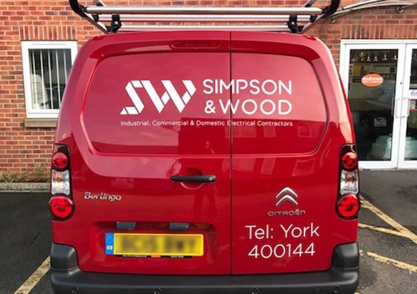 simpson & wood van graphics 2