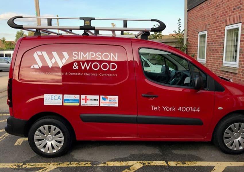 simpson & wood van graphics