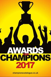 awards for champions, trophy brochure