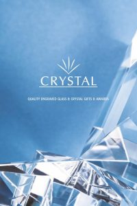crystal, trophy brochure