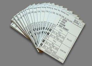 engraved label