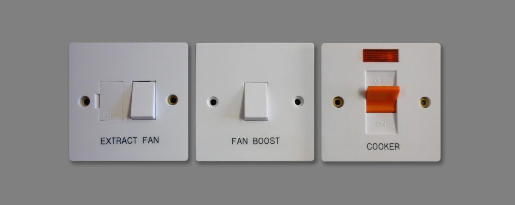 Engraved Electrical Switches - Custom Engraving & Digital Print | York