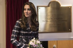 Kate Middleton Brass Plaque