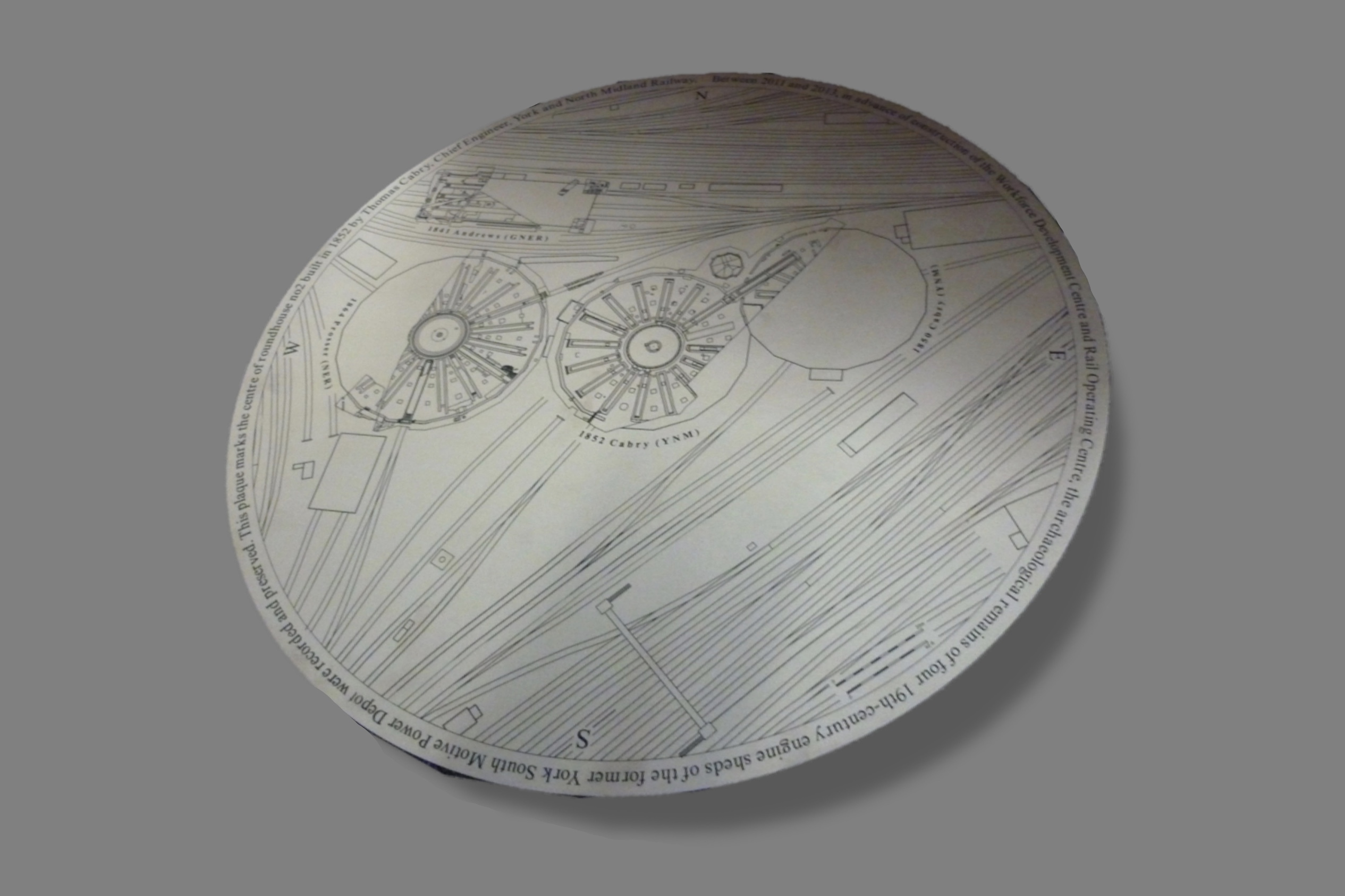 Engraved Steel