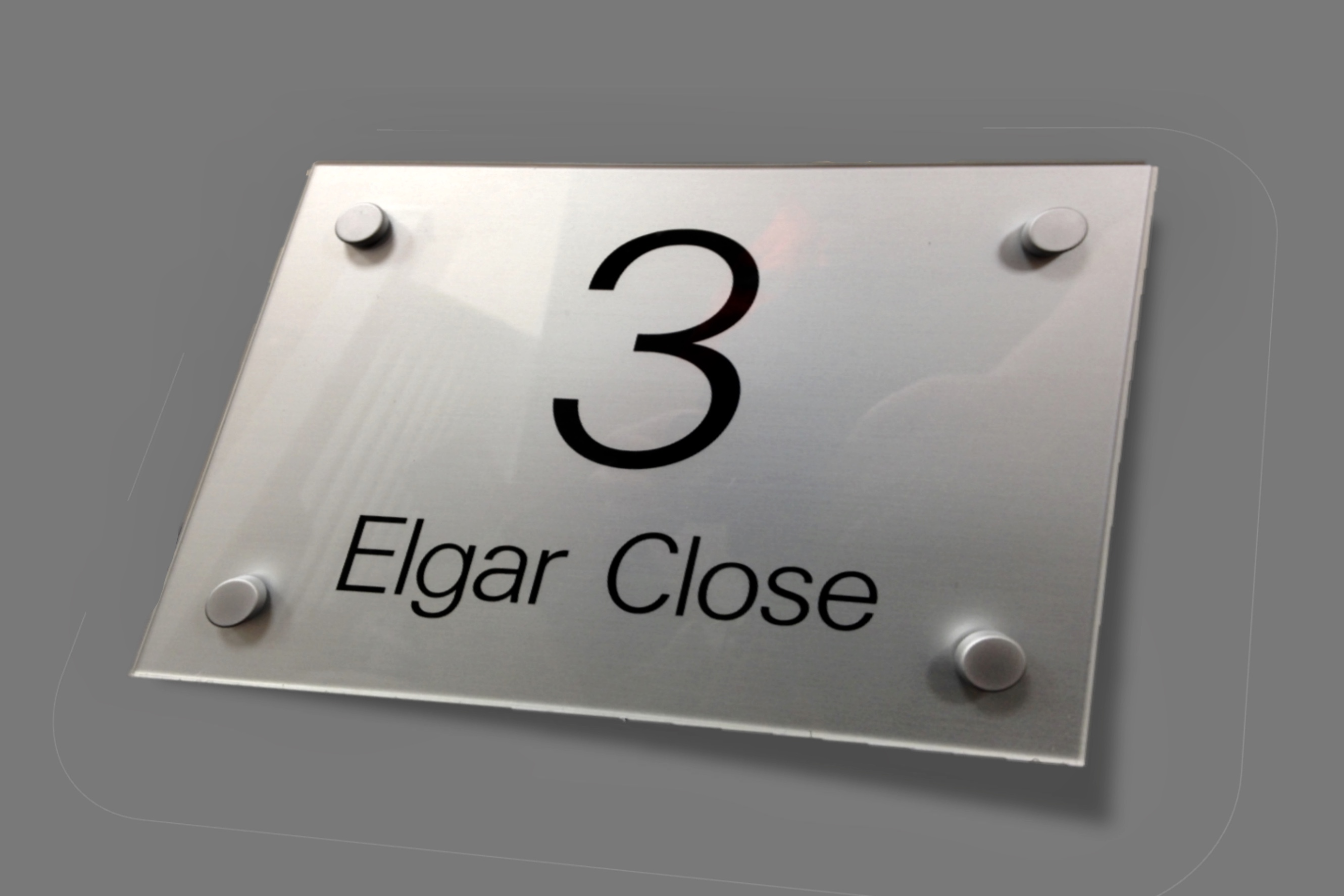 Perspex Door Sign