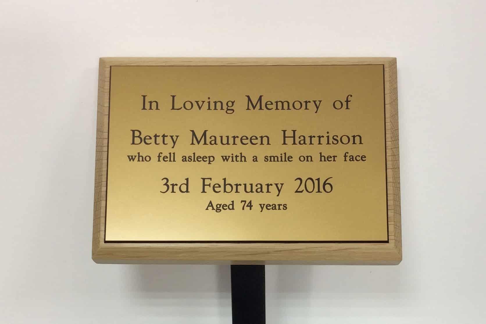 memorial stake