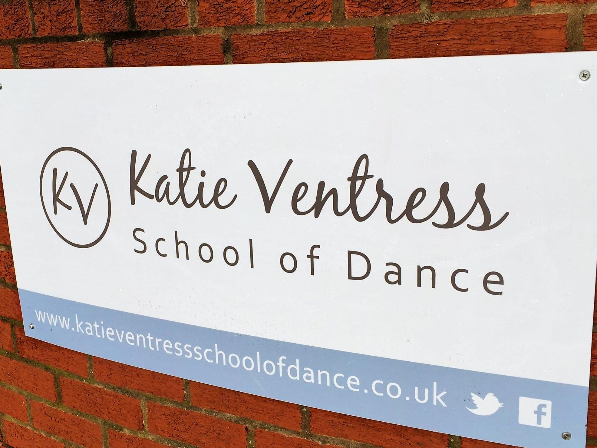 Dance School Signage