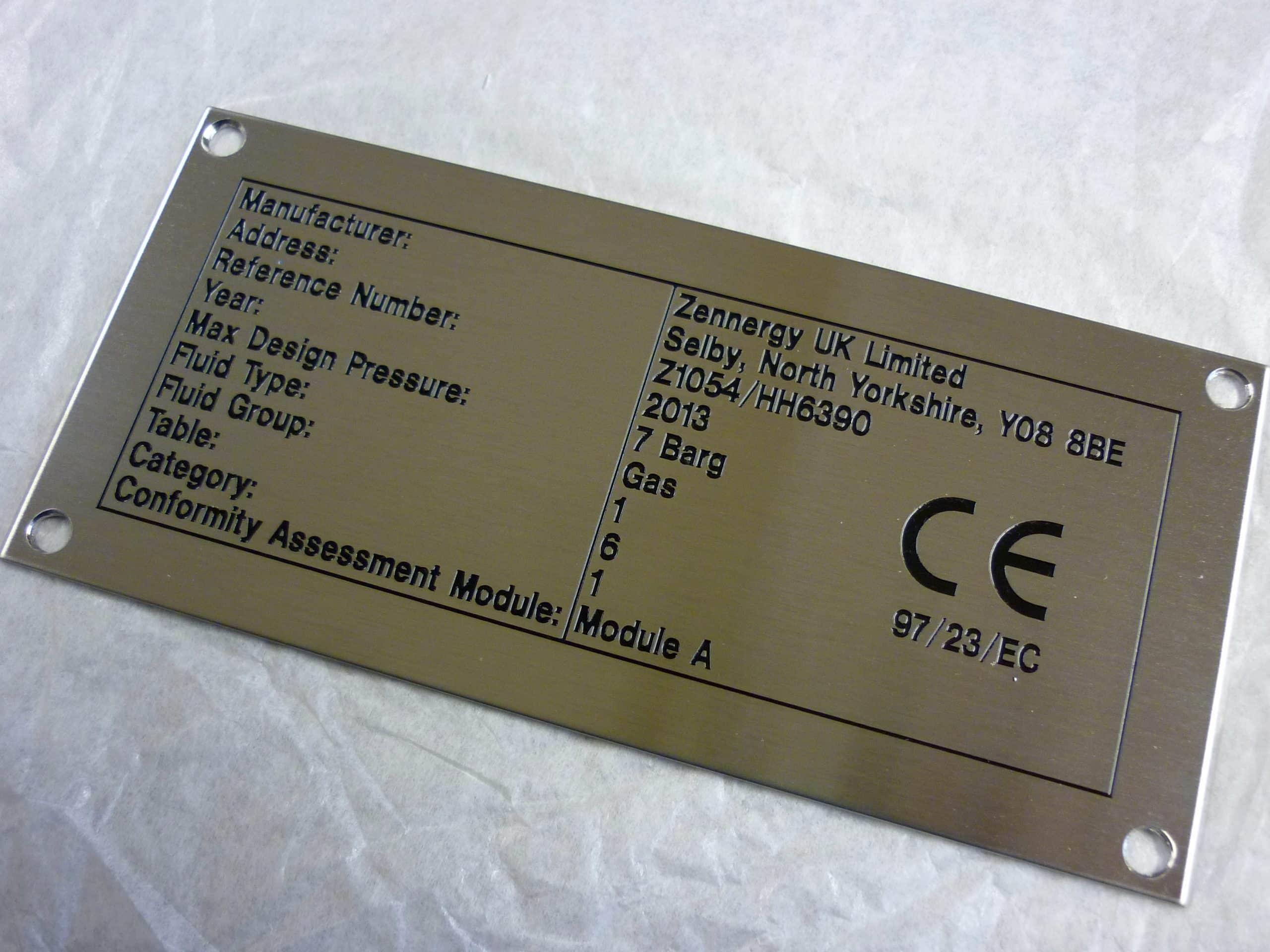 serial plate