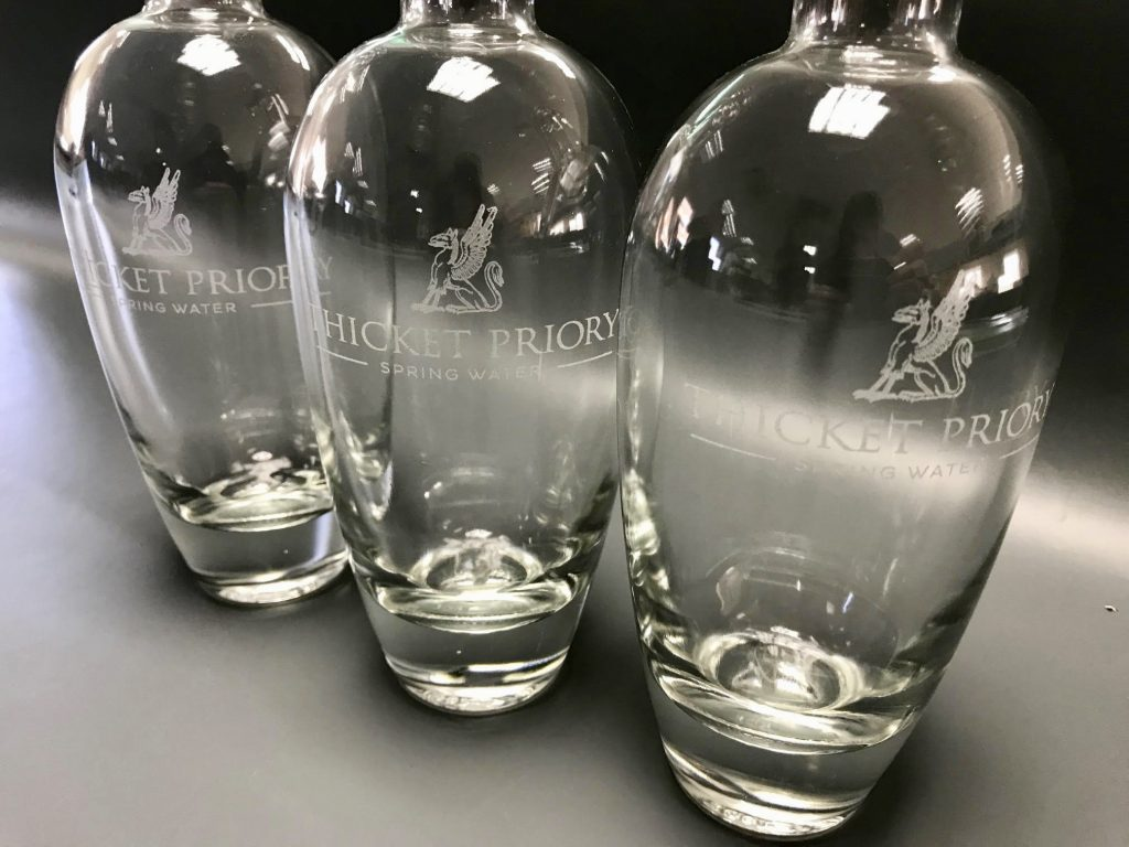 laser engraved glass bottles