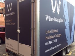 Bespoke Signage on Trailer