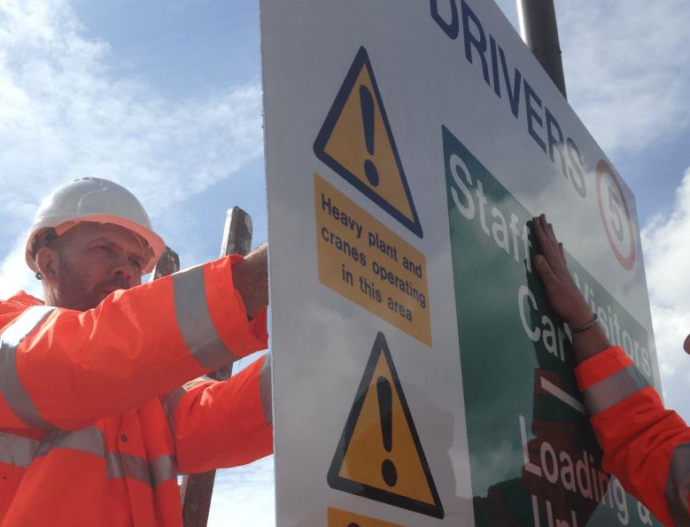Fitting Rail Signage